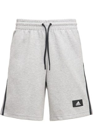 ADIDAS PERFORMANCE Mænd Træningsshorts - Future Icon 3s Cotton Blend Sweat Shorts