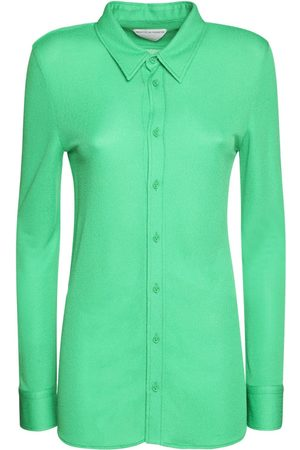 BOTTEGA VENETA Kvinder Langærmede skjorter - Viscose Shirt