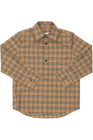Burberry Mænd Business skjorter - Check Cotton Poplin Shirt