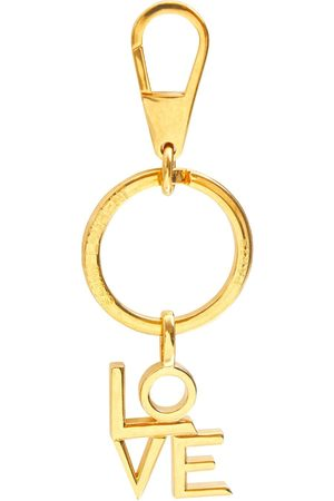 Saint Laurent Love Key Ring