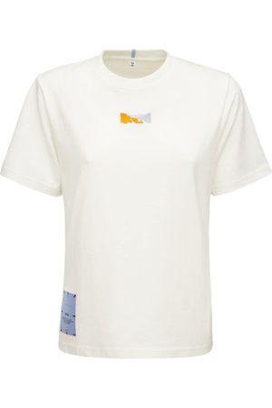 McQ Breathe Printed Regular Cotton T-shirt