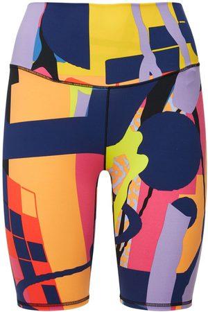 adidas All Over Print Biker Shorts