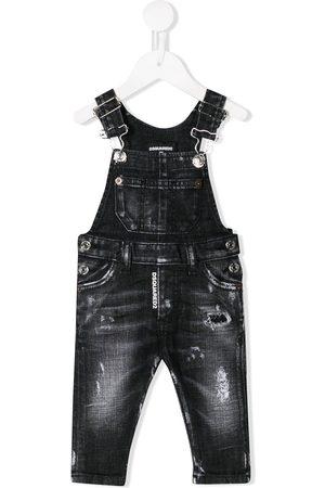 Dsquared2 Baby Overalls - Stenvaskede overalls