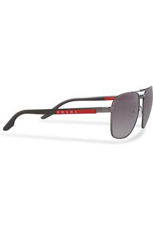 Prada Linea Rossa Mænd Solbriller - 0PS 53XS Sunglasses Silver