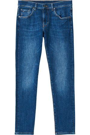 J.Lindeberg Mænd Stretch - Jay Active Super Stretch Jeans Mid Blue