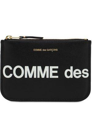 Comme des Garçons Kvinder Punge - Huge Logo Leather Wallet