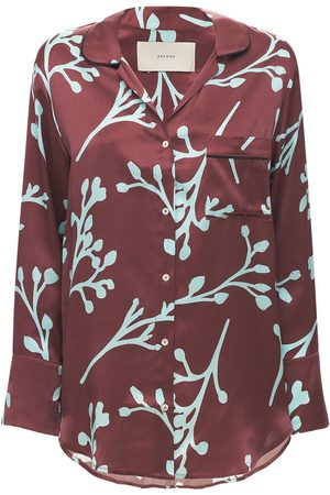 ASCENO The Paris Printed Silk Shirt
