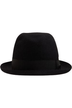 BORSALINO Mænd Hatte - Alessandria Felt Hat W/satin Hatband