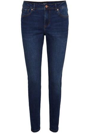 VERO MODA Vmtanya Normal Talje Skinny Fit Jeans Kvinder