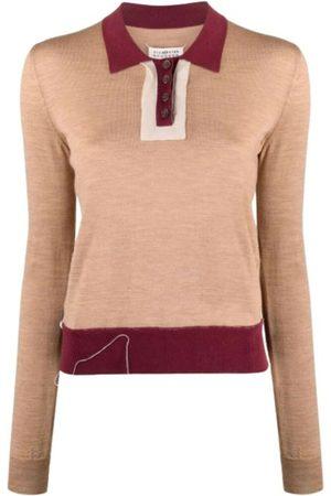Maison Margiela Knit Polo Shirt