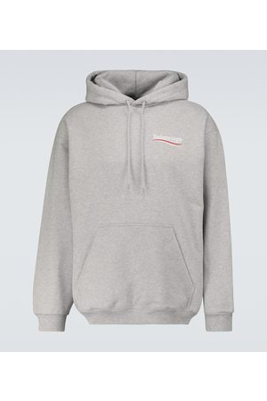 Balenciaga Medium-fit hooded sweatshirt