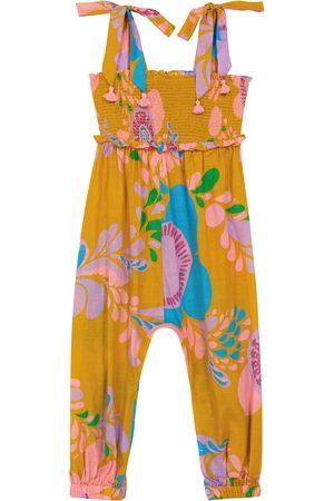 Zimmermann Kids Piger Jumpsuits - Teddy floral cotton jumpsuit