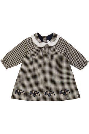 Tartine Et Chocolat Baby Kjoler - Baby gingham stretch-cotton dress