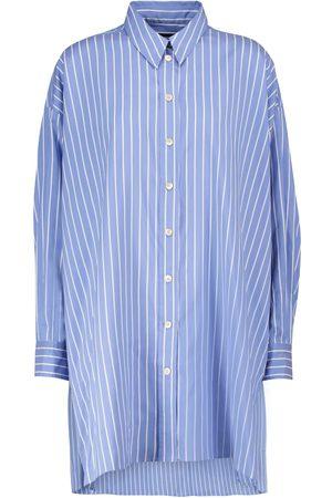 Isabel Marant Sacali striped oversized silk shirt