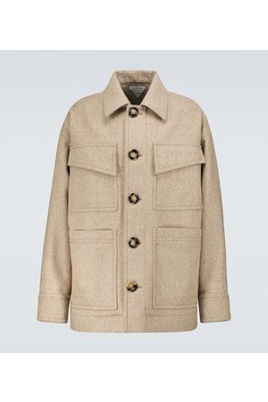 Bottega Veneta Military wool coat