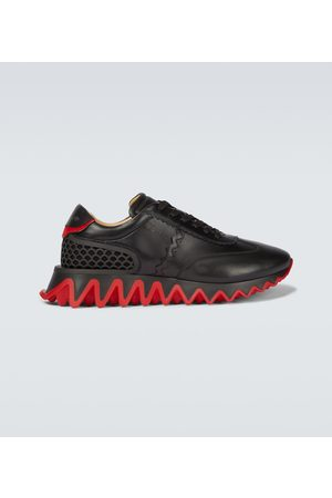 Christian Louboutin Loubishark leather sneakers