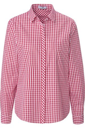 Peter Hahn Kvinder Casual skjorter - Skjorte i 100% bomuld Fra pink
