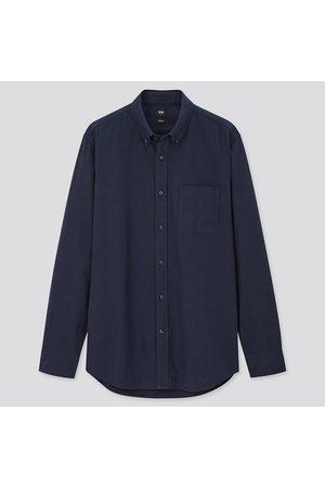 UNIQLO Men Slim Fit Oxford Shirt (Button-Down Collar)