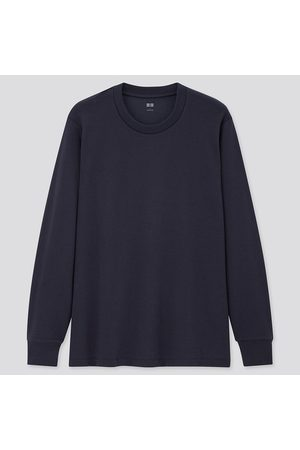 UNIQLO Men Soft Touch Crew Neck Long Sleeved T-Shirt
