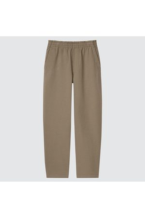 UNIQLO Men Washed Jersey Relaxed Ankle Length Trousers