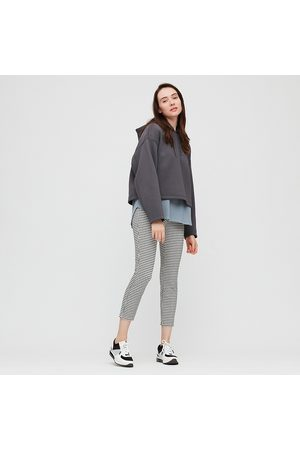 UNIQLO Women Ultra Stretch Printed Cropped Leggings Trousers