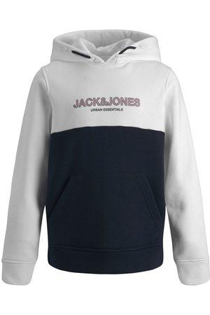 JACK & JONES Drenge Farveblok Hoodie Mænd White