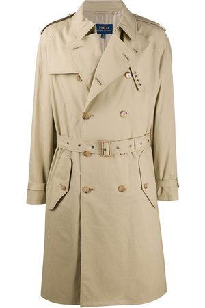 Polo Ralph Lauren Mænd Trenchcoats - Dobbeltradet trenchcoat