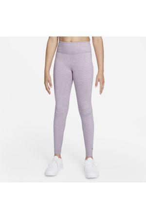 Nike Piger Leggings - Dri-FIT One Luxe-leggings med høj talje til større børn (piger)
