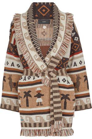 Alanui Long Way To Ushuaia cashmere-blend cardigan