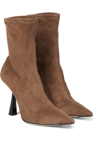 Jimmy Choo Bray 100 suede boots