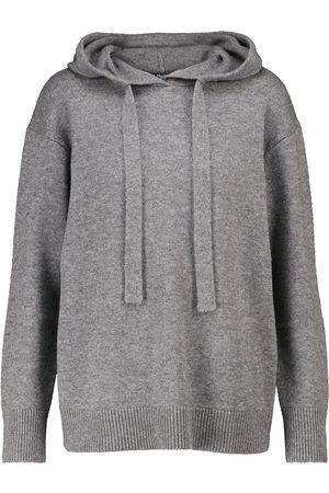 Max Mara Anima wool and cashmere hoodie