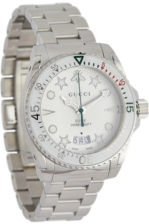 Gucci Kvinder Ure - Dive 40mm stainless steel watch