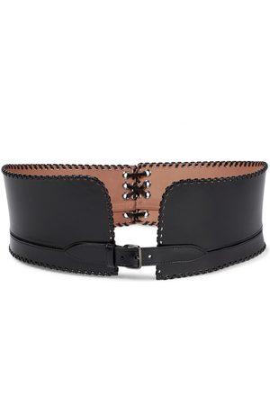 Alaïa Kvinder Bælter - Leather corset belt