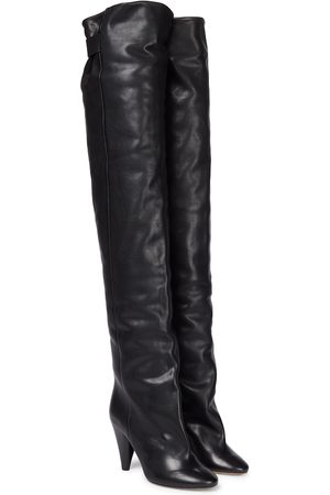 Isabel Marant Leather over-knee boots