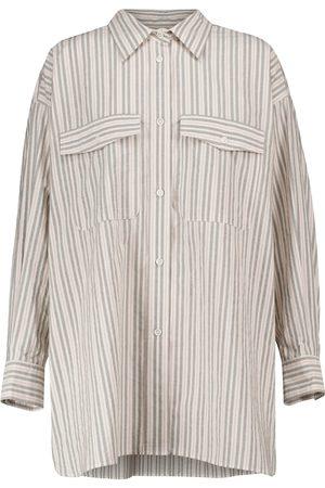 Isabel Marant Kvinder Casual skjorter - Ajady striped cotton shirt