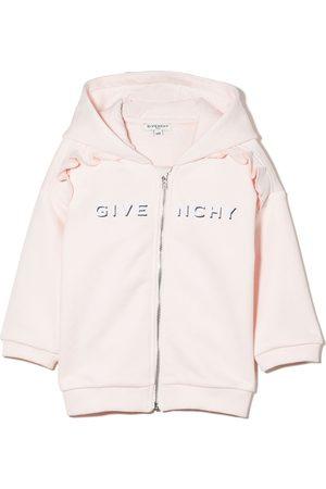 Givenchy Baby Hoodies - Hættetrøje med logotryk og lynlås
