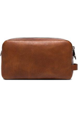 Brunello Cucinelli Mænd Toilettasker - Leather wash bag