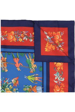 Hermès Tørklæder - Pre-owned Les Jardiniers du Roy silketørklæde fra 1990'erne