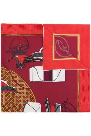 Hermès 1990'er Les Voitures A Transformation silketørklæde