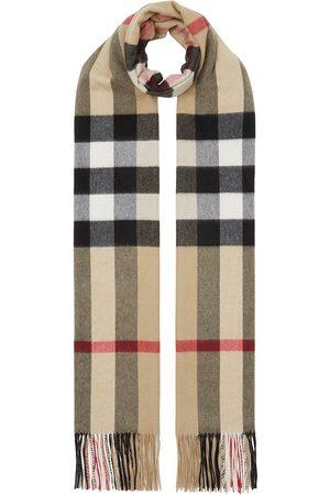 Burberry Tørklæder - Vintage ternet tørklæde i kashmir