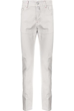 Kiton Mænd Straight - Jeans med lige ben og logomærke