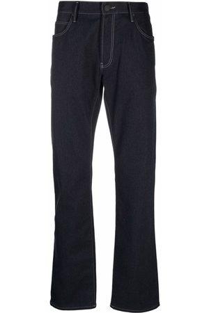 Armani Jeans med lige ben og mørk vask