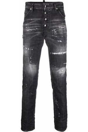 Dsquared2 Mænd Skinny - Cool Guy ripped-detail jeans