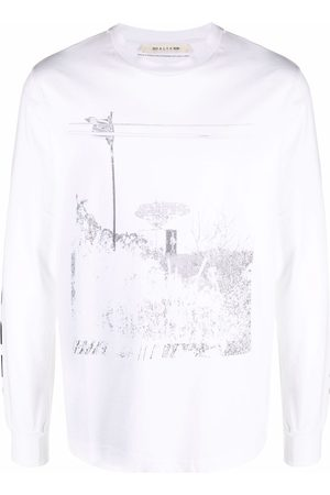 1017 ALYX 9SM Graphic-print long-sleeved T-shirt