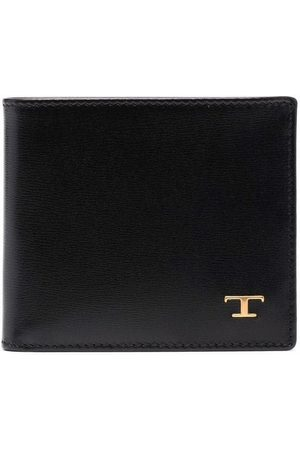 Tod's Logo-plaque leather wallet