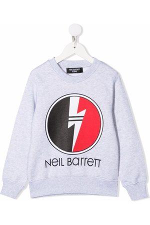 Neil Barrett Logo crew-neck sweatshirt