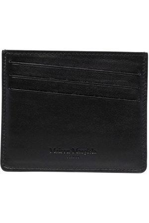 Maison Margiela Colour-block leather cardholder