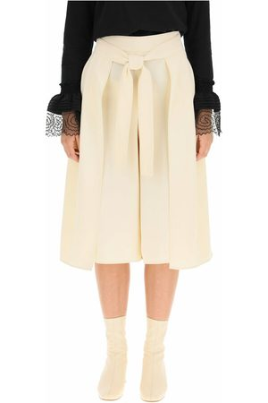 See by Chloé Kvinder Culottes bukser - Knotted culottes