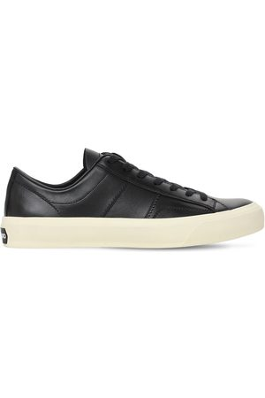 Tom Ford Cambridge Leather Low Top Sneakers