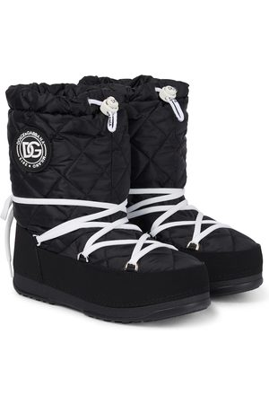 Dolce & Gabbana Quilted nylon snow boots